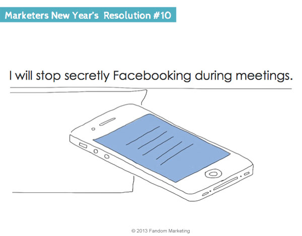 marketers new years resolution 10