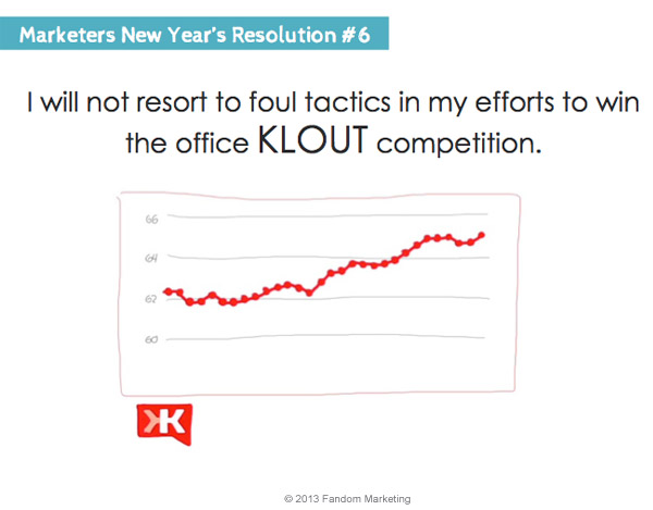 marketers new years resolution 6