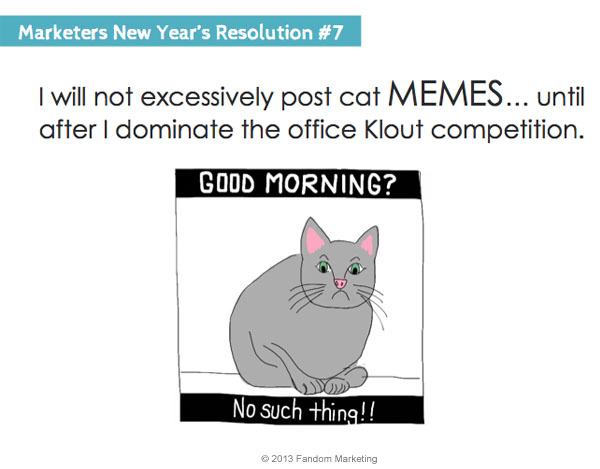 marketers new years resolution 7