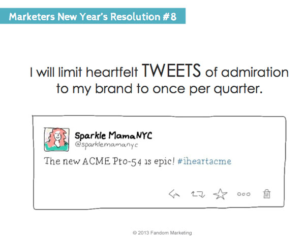 marketers new years resolution 8