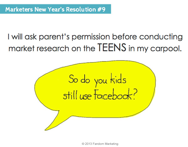marketers new years resolution 9
